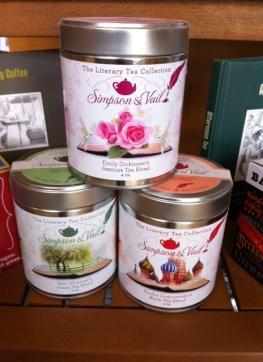 Sampson & Vail Literary Tea blends