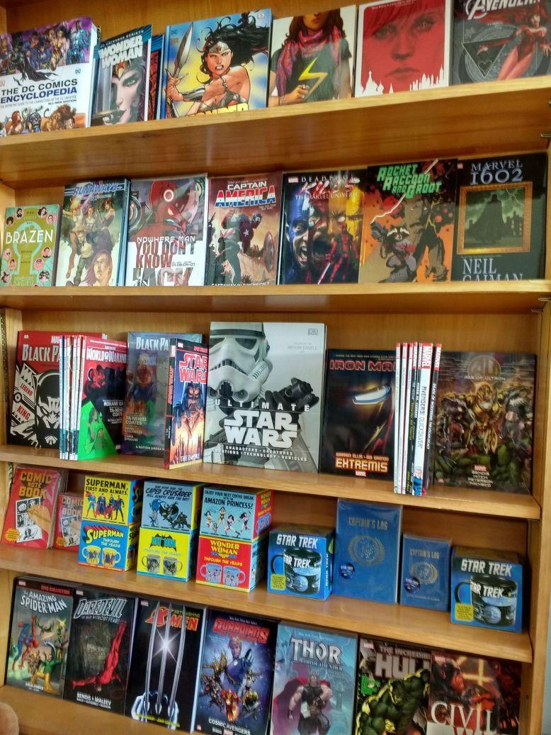 DaisyRaven shelves